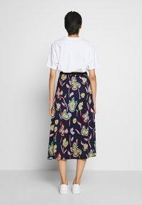 PS Paul Smith - A-line skirt - dark blue - 2