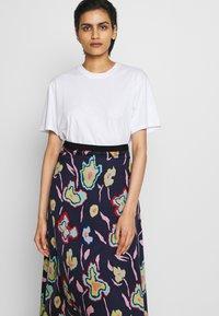PS Paul Smith - A-line skirt - dark blue - 3