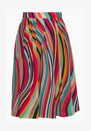 A-line skirt - multcolor