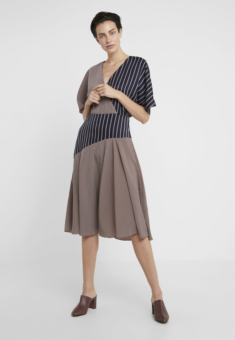 PS Paul Smith - Day dress - dark blue/red