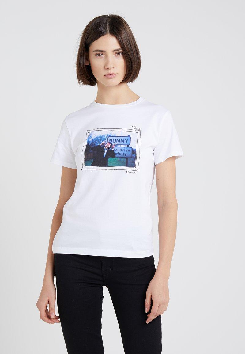 PS Paul Smith - Printtipaita - white