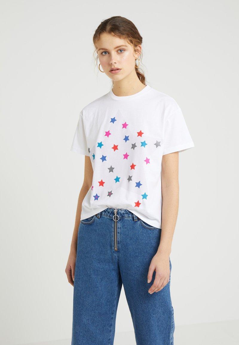 PS Paul Smith - T-shirt z nadrukiem - white