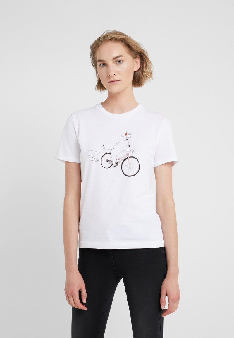 PS Paul Smith - Print T-shirt - white