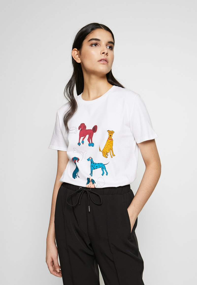 PS Paul Smith - T-shirts print - white