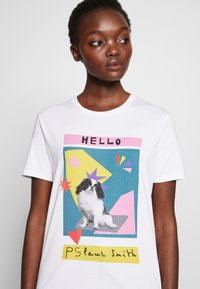 PS Paul Smith - Print T-shirt - white - 5