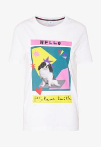 PS Paul Smith - Print T-shirt - white - 4