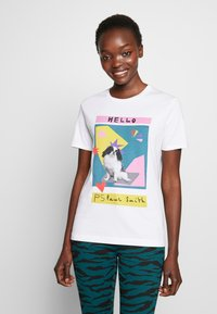 PS Paul Smith - Print T-shirt - white - 0