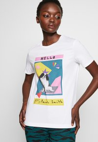 PS Paul Smith - Print T-shirt - white - 3
