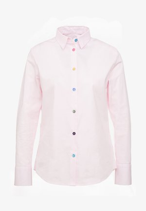 Button-down blouse - pastel pink