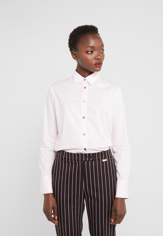 Button-down blouse - rose