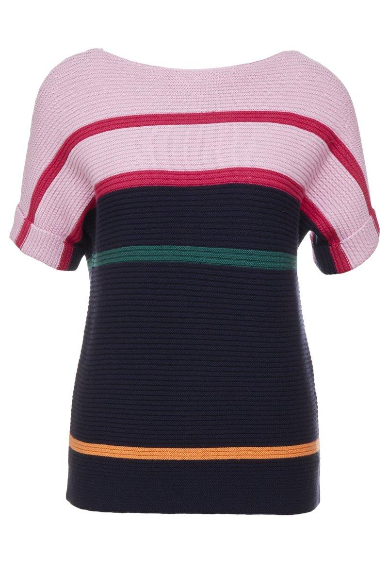 PS Paul Smith - T-shirts med print - light pink/dark blue