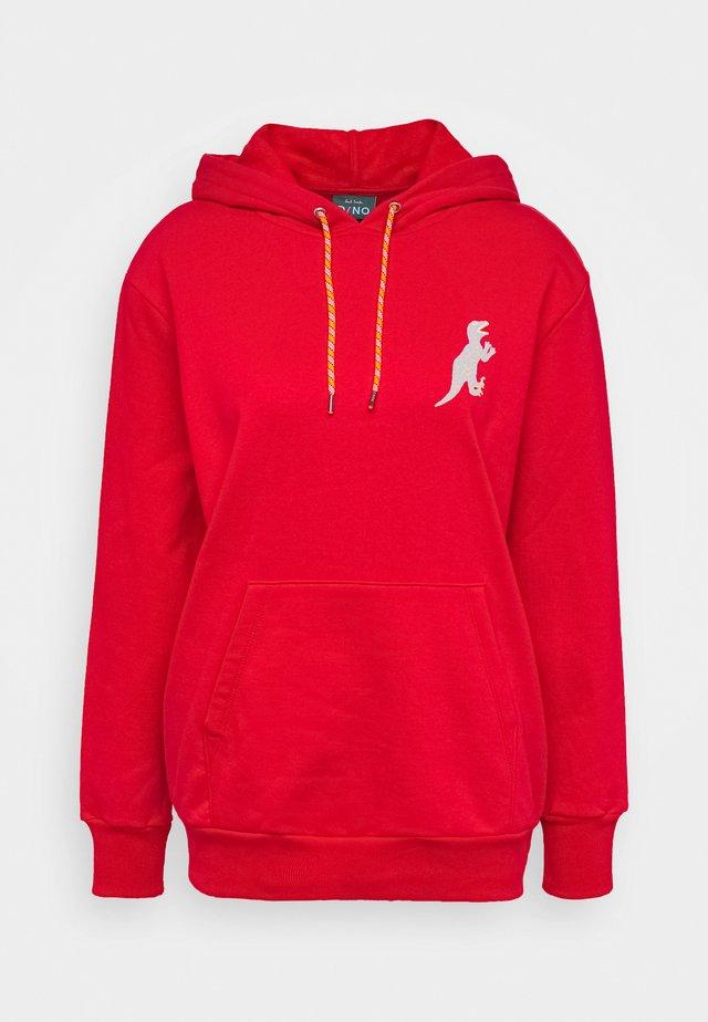 Bluza z kapturem - red