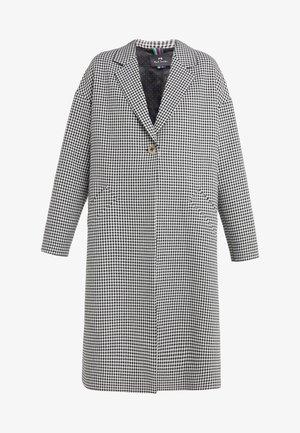 Zimní kabát - black/white