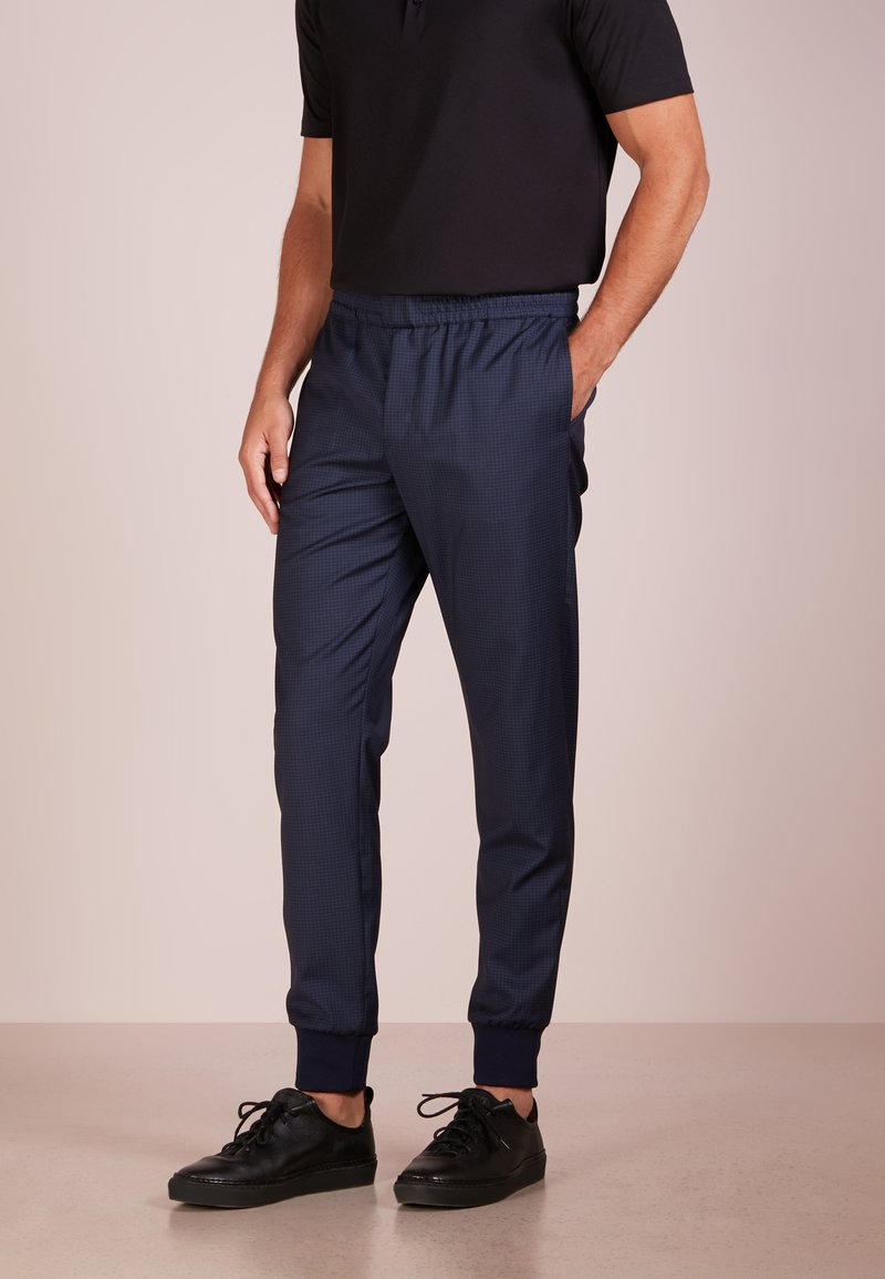 PS Paul Smith - DRAWCORD TROUSER - Suit trousers - navy