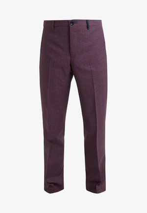 TROUSER - Suit trousers - coral