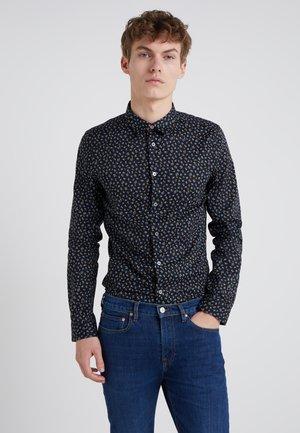 SLIM FIT - Camisa - black