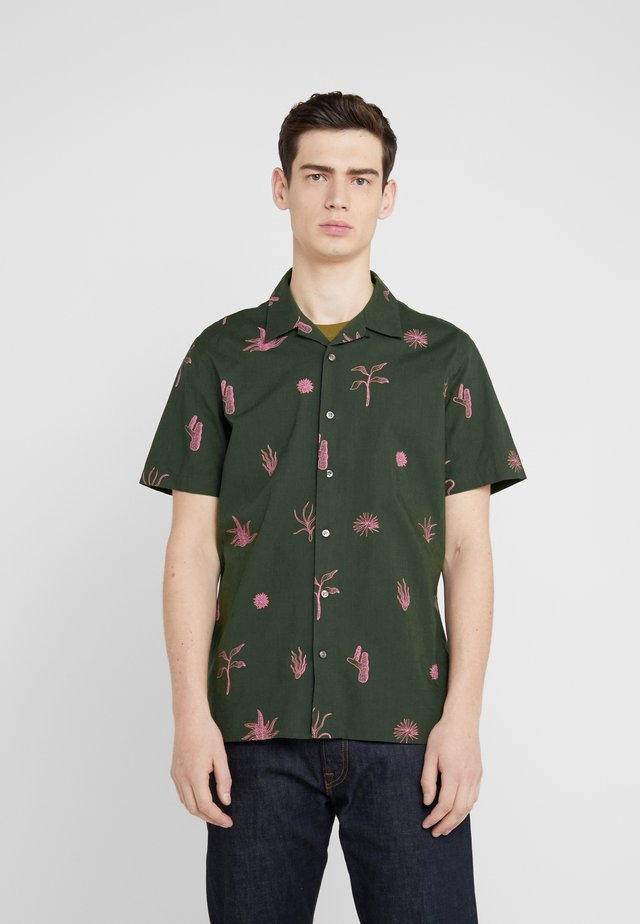 MENS CASUAL FIT SHIRT - Hemd - olive