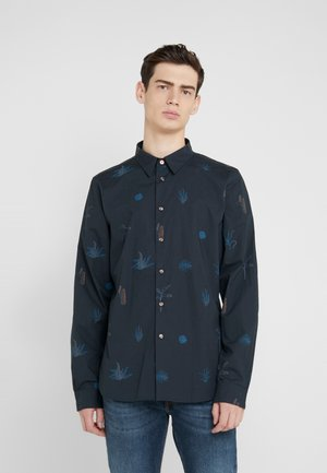 MENS TAILORED FIT SHIRT - Overhemd - navy