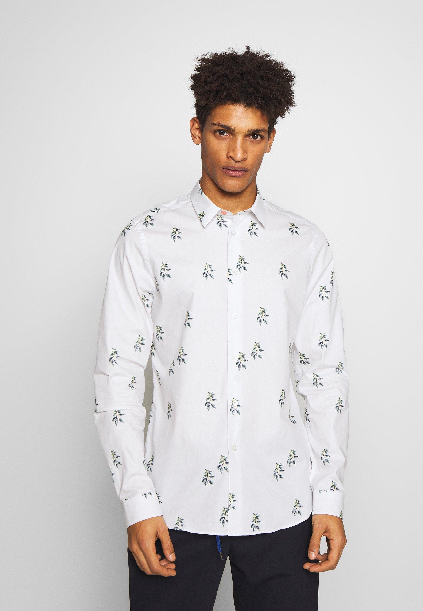 PS Paul Smith MENS SLIM - Koszula - white
