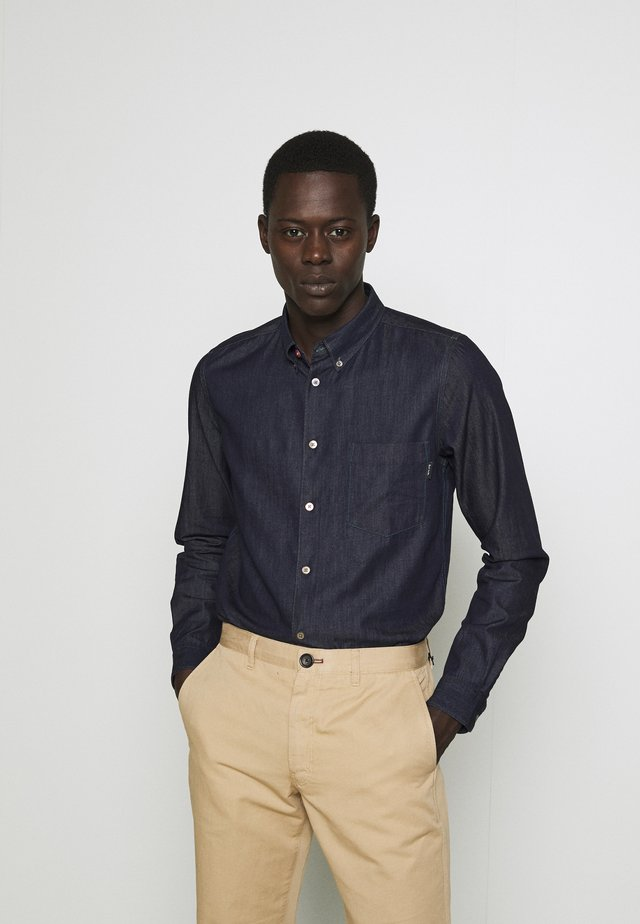 MENS TAILORED - Shirt - dark denim