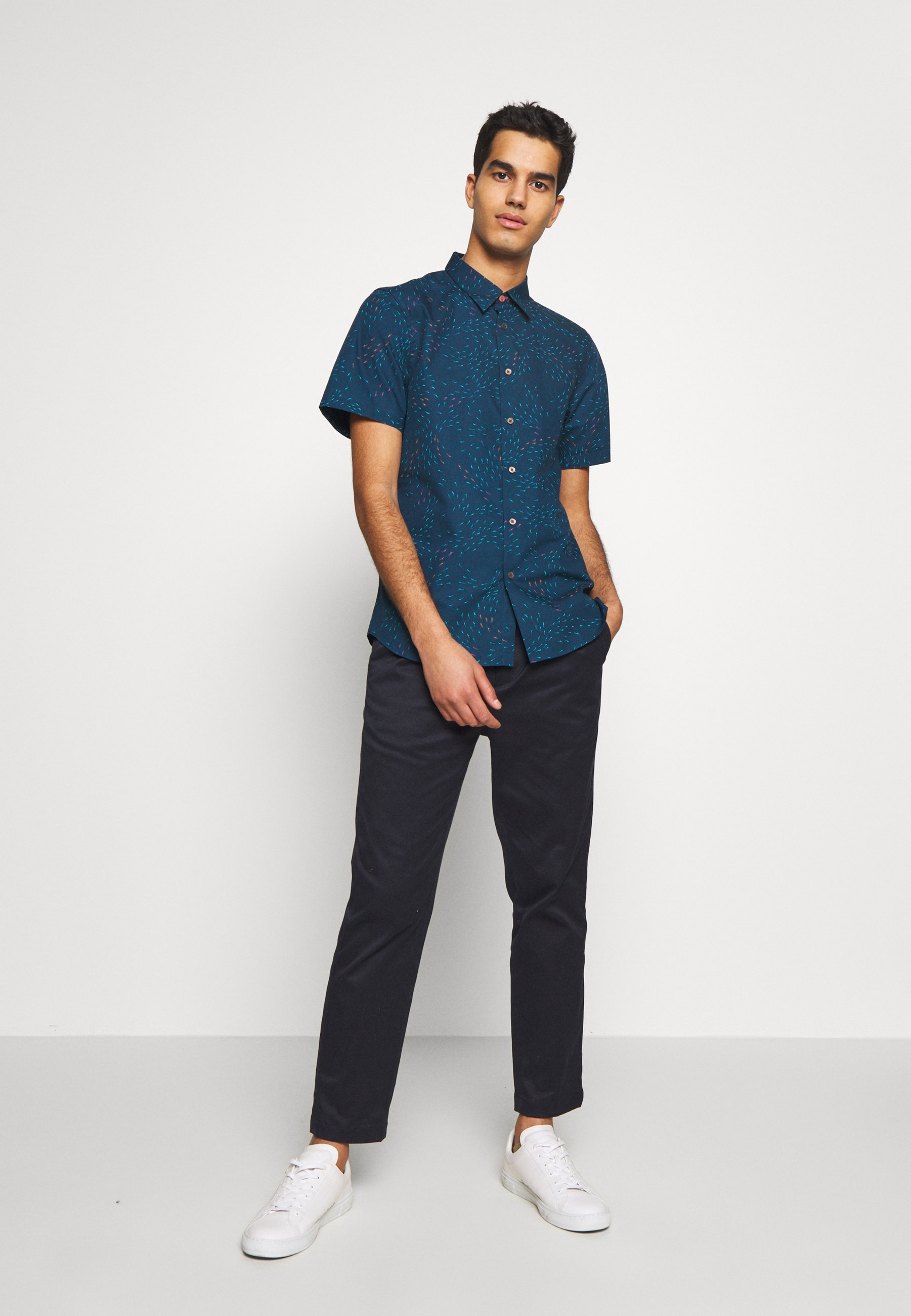 Ps Paul Smith Mens Tailored - Camicia Navy uxaPpIx
