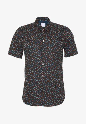 SLIM - Shirt - black multi