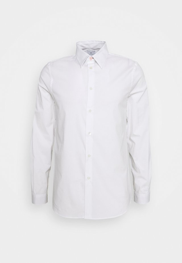 MENS TAILORED FIT - Camicia elegante - white