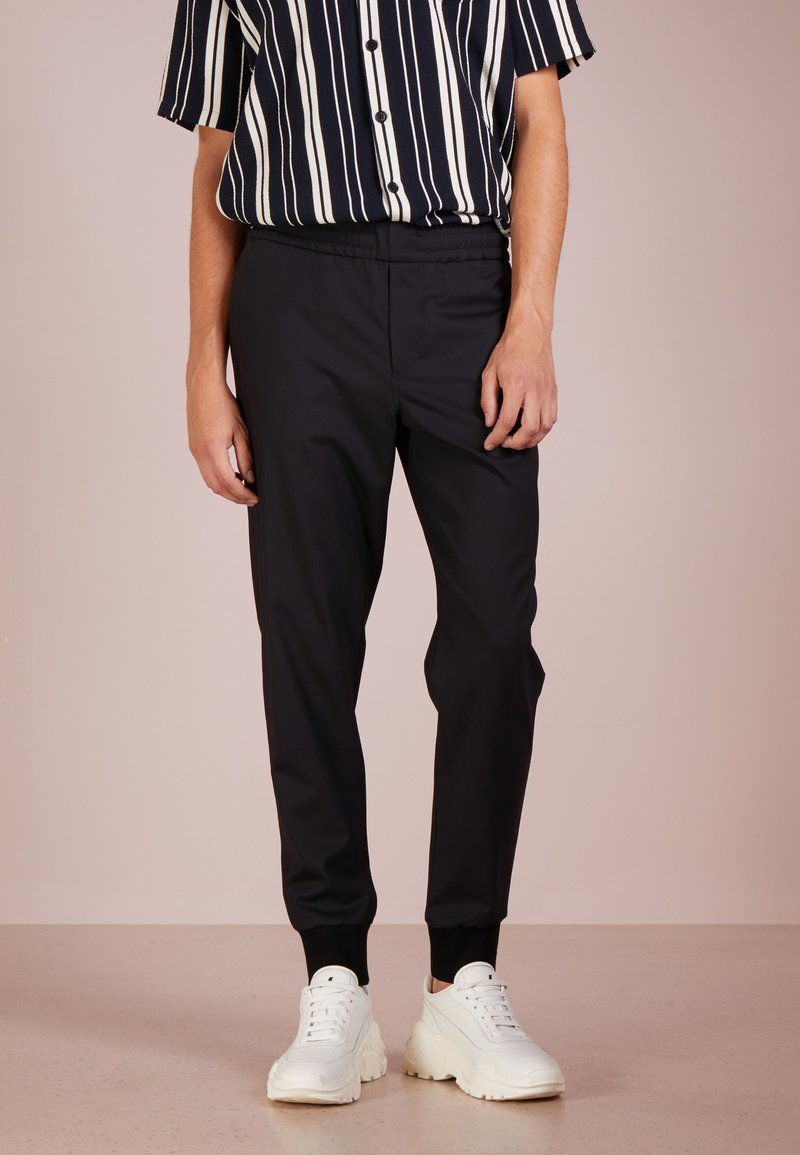 PS Paul Smith - DRAWCORD TROUSER - Trousers - black