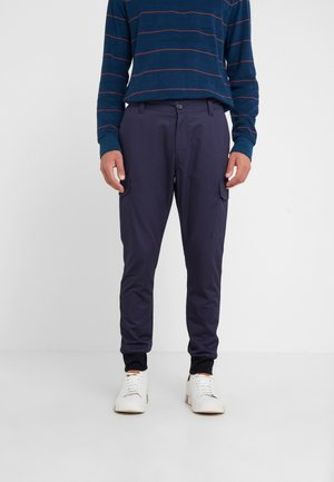 MILITARY JOGGER - Cargo trousers - navy