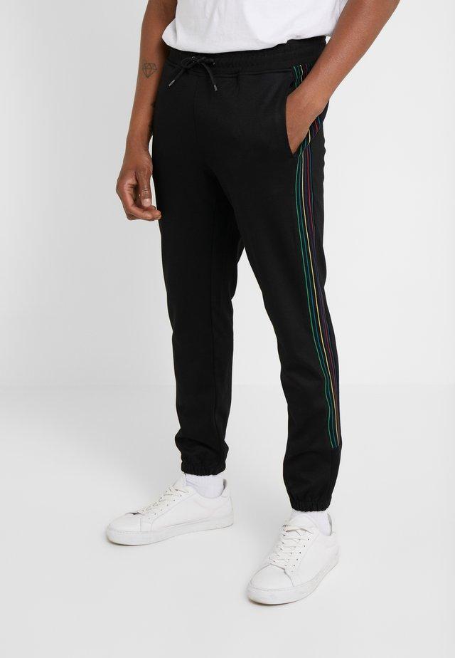 TRACK - Spodnie treningowe - black