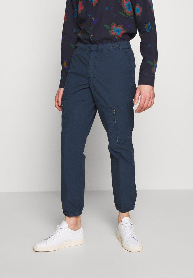 MENS FLIGHT PANTS - Trousers - navy