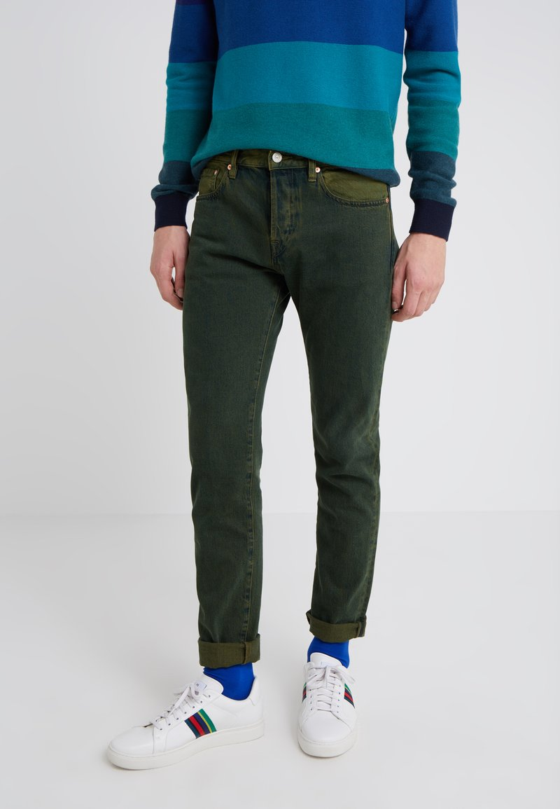 PS Paul Smith - Jeansy Slim Fit - green