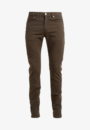 Jeansy Slim Fit - olive