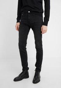 PS Paul Smith - STANDARD  - Slim fit jeans - black - 0