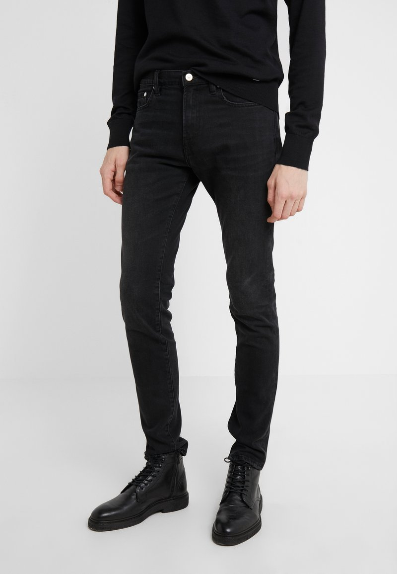 PS Paul Smith - STANDARD  - Slim fit jeans - black