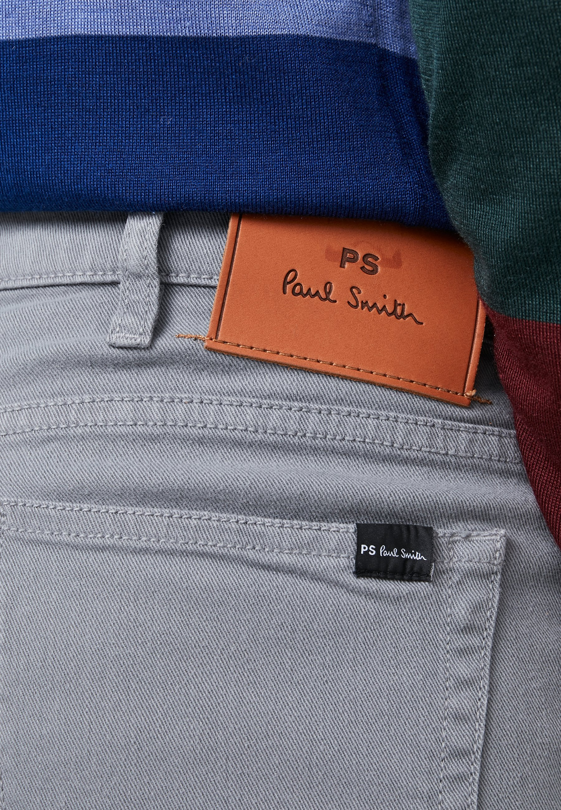 PS Paul Smith Jeansy Slim Fit - grey