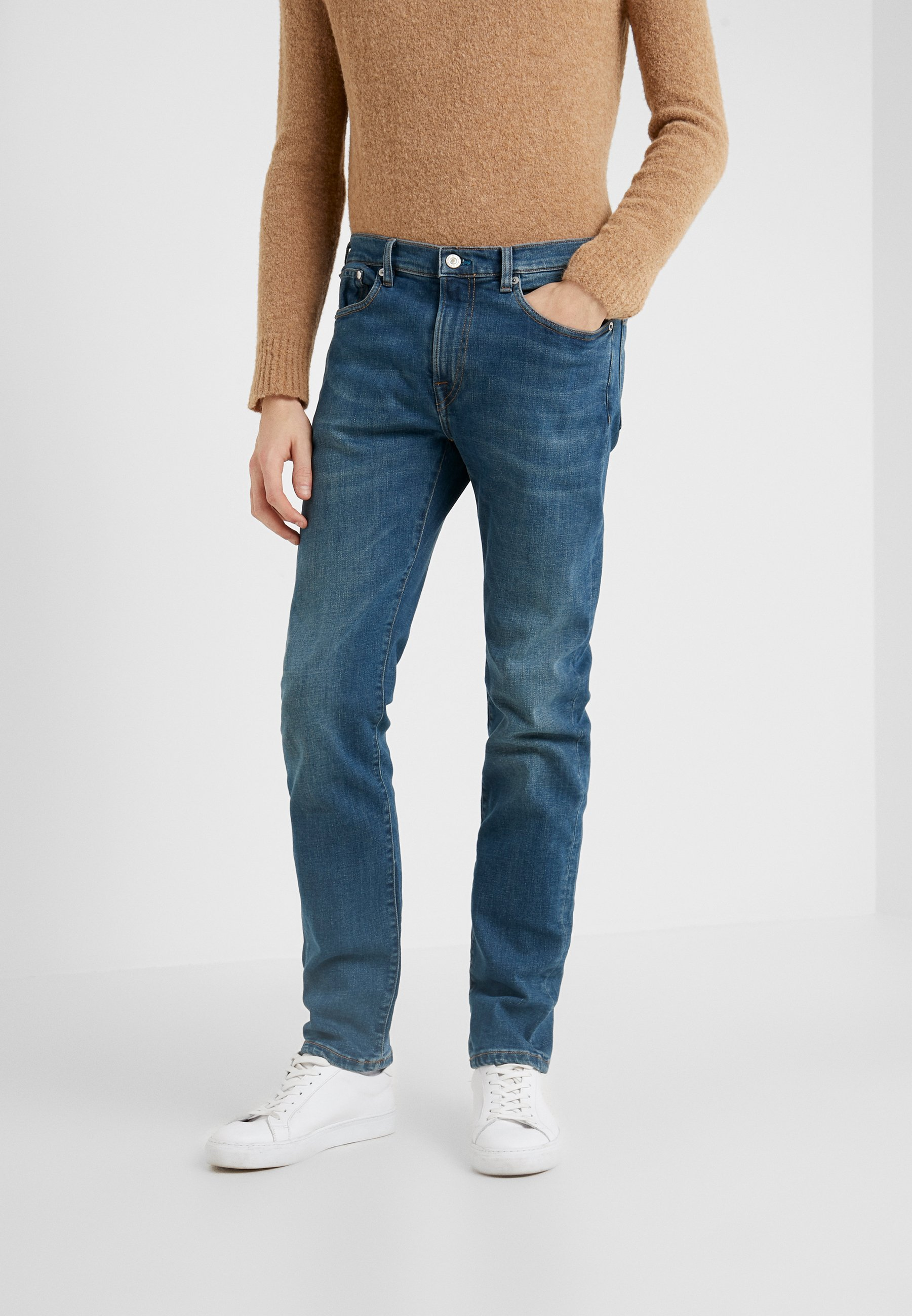 PS Paul Smith Jeansy Slim Fit - blue denim