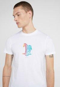 PS Paul Smith - Camiseta estampada - white - 4