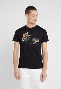 PS Paul Smith - T-shirt con stampa - black - 0