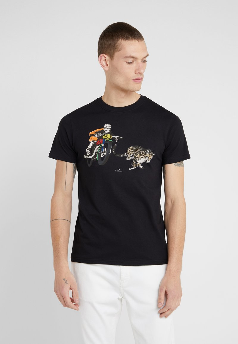 PS Paul Smith - T-shirt z nadrukiem - black