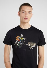 PS Paul Smith - T-shirt con stampa - black - 4
