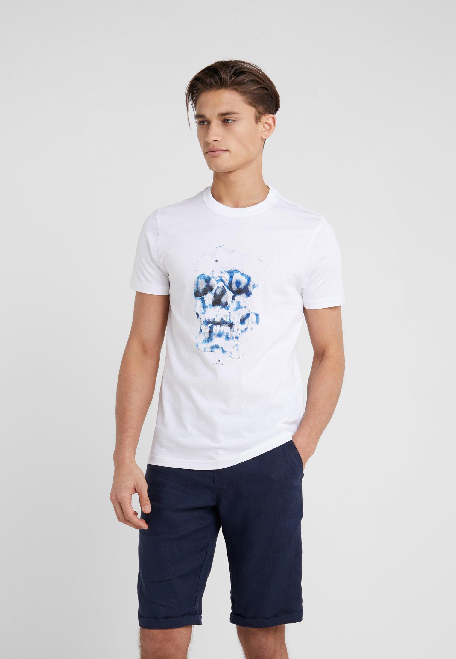 Paul Smith ImpriméWhite shirt T Ps 0O8NwXZPkn