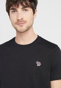 PS Paul Smith - MENS SLIM FIT ZEBRA - Basic T-shirt - black - 3