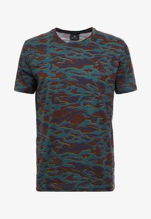 T-shirt med print - multicolor