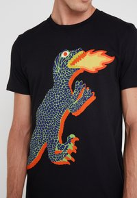 PS Paul Smith - REGULAR FIT DINO - Camiseta estampada - black - 3