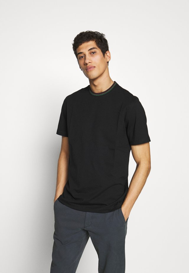 REGULAR FIT - Basic T-shirt - black