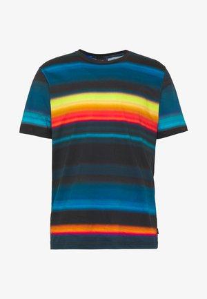 MENS FIT RAINBOW STRIPE - T-shirt imprimé - multi