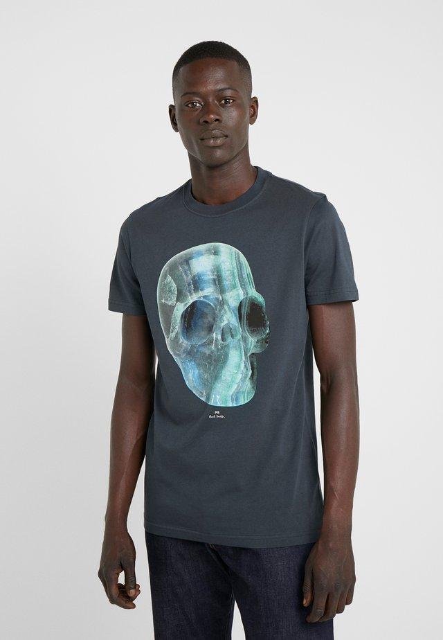 CRYSTAL SKULL - T-Shirt print - anthracite