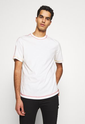 STITCHING - Basic T-shirt - white