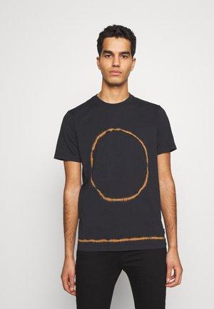 TIE DYE - T-shirt con stampa - navy
